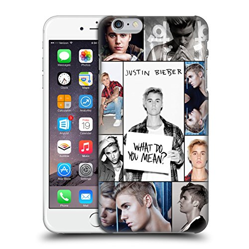 Official Justin Bieber Grid Poster Purpose Hard Back Case for iPhone 6 Plus/iPhone 6s Plus