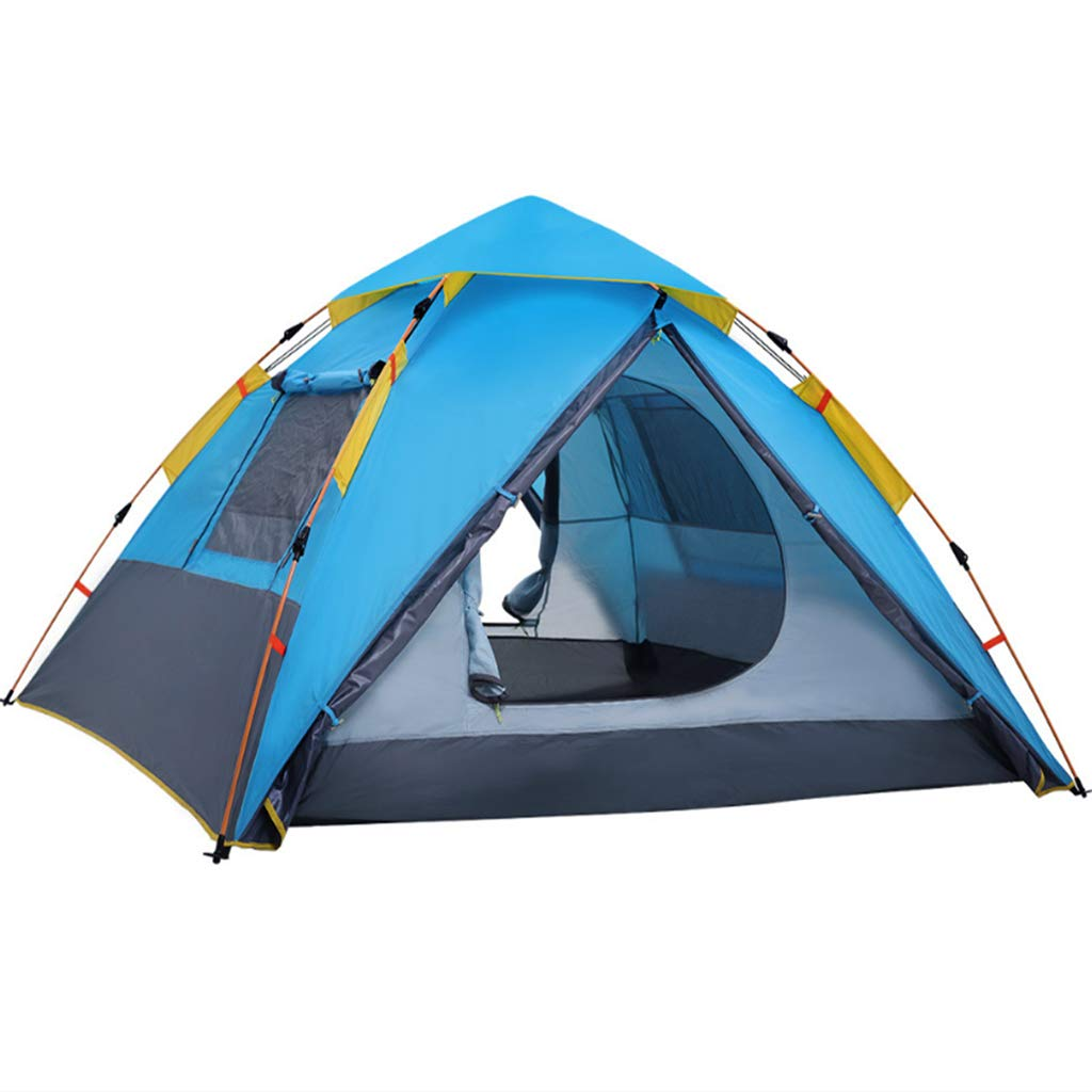 LYX Außenzelt Kamel Zelt Outdoor 2 Personen 3-4 Personen Camping Regensicher Familie Camping Automatische Zelt Camping Reisen
