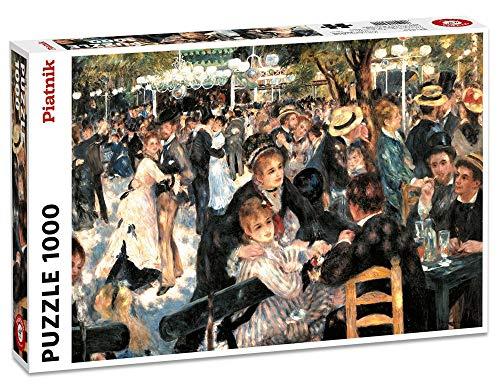 Piatnik Dance at Le Moulin de la Galette (Auguste Renoir Moulin De La Galette 1876)