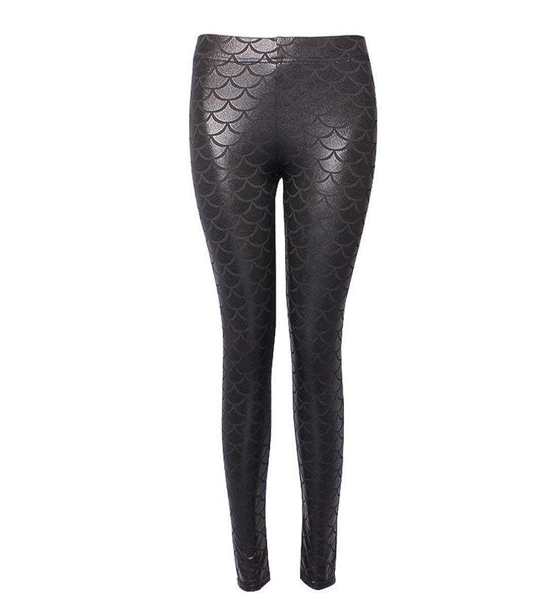BOLAWOO Leggings Jeggings Treggings Crayon Pantalon de Stretch Fête Style Pants  Femmes Femmes Pantalons Longues Taille Haute Slim ... 7568b2db588