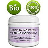 Neck Firming Cream Anti-Aging Moisturizer For Women And Men - Firms Tones And Lifts Delicate Skin - Anti Wrinkle Cream With Antioxidants Coconut Jojoba & Avocado - 4 Oz – Paraben free By Honeydew