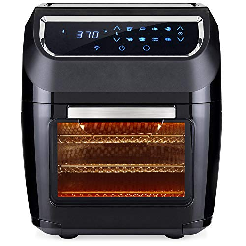Best Choice Products 11.6qt 1700W 8-in-1 XL Air Fryer Oven, Rotisserie, Dehydrator Kitchen Cooking Set w/ 8 Accessories