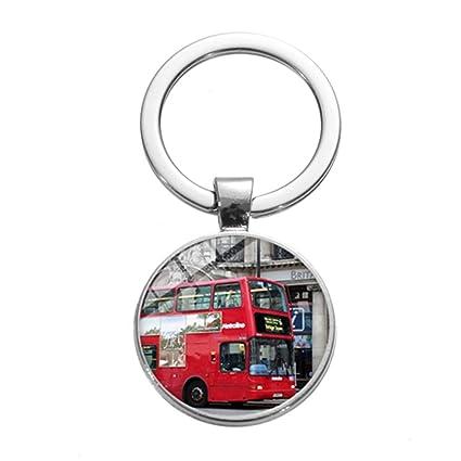 CLEARNICE Llavero Londres De Doble Piso Autobús Encanto ...