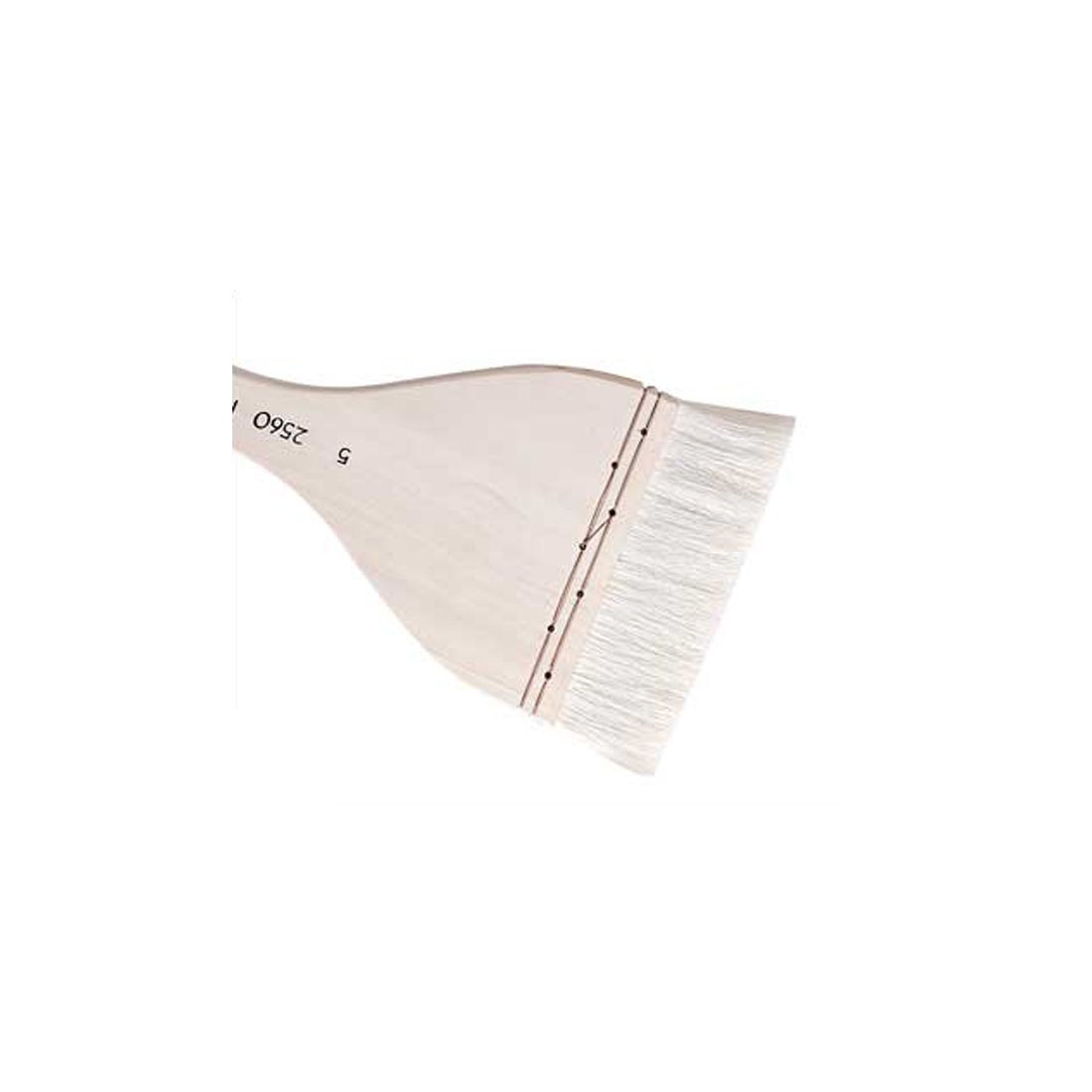 BarFeer Goat Hair Hake Brush Paint Art Brushes Tool Long Wooden Handle Art Supplies Watercolor Brush Pen Size 1