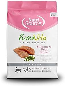 Purevita Grain-Free Salmon Cat Food, 2.2-Pound