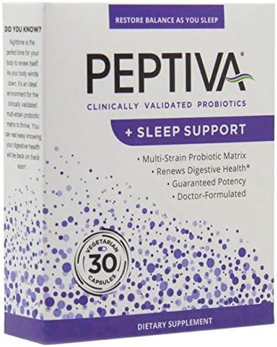 Peptiva Probiotics Sleep Support Clinically product image
