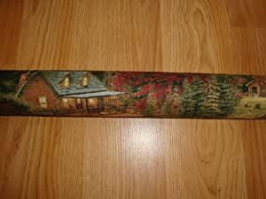 "Door Draft Stopper Filled with Fragrant Balsam - Standard 2"" X 38"" – Rustic Cabin - Quality USA Made"