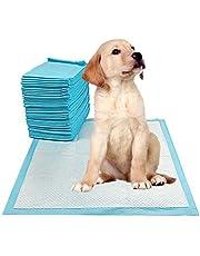 Ezonedeal 200pcs/ 400pcs Puppy Pet Dog Indoor Cat Toilet Training Pads Super Absorbent 60x60cm (200)