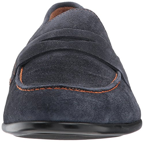 Bruno Magli Men's Silas Loafer Navy clearance 2015 free shipping geniue stockist Orange 100% Original finishline cheap price discount low price fee shipping ESONo81