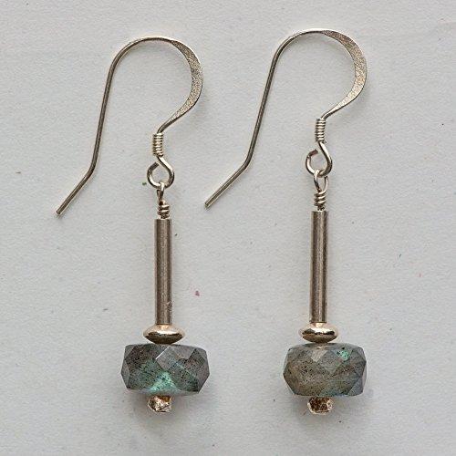 Labradorite Drop Earrings -