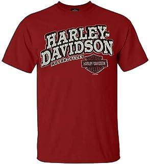 Harley-Davidson Mens Royal Spade with B/&S Red Short Sleeve T-Shirt