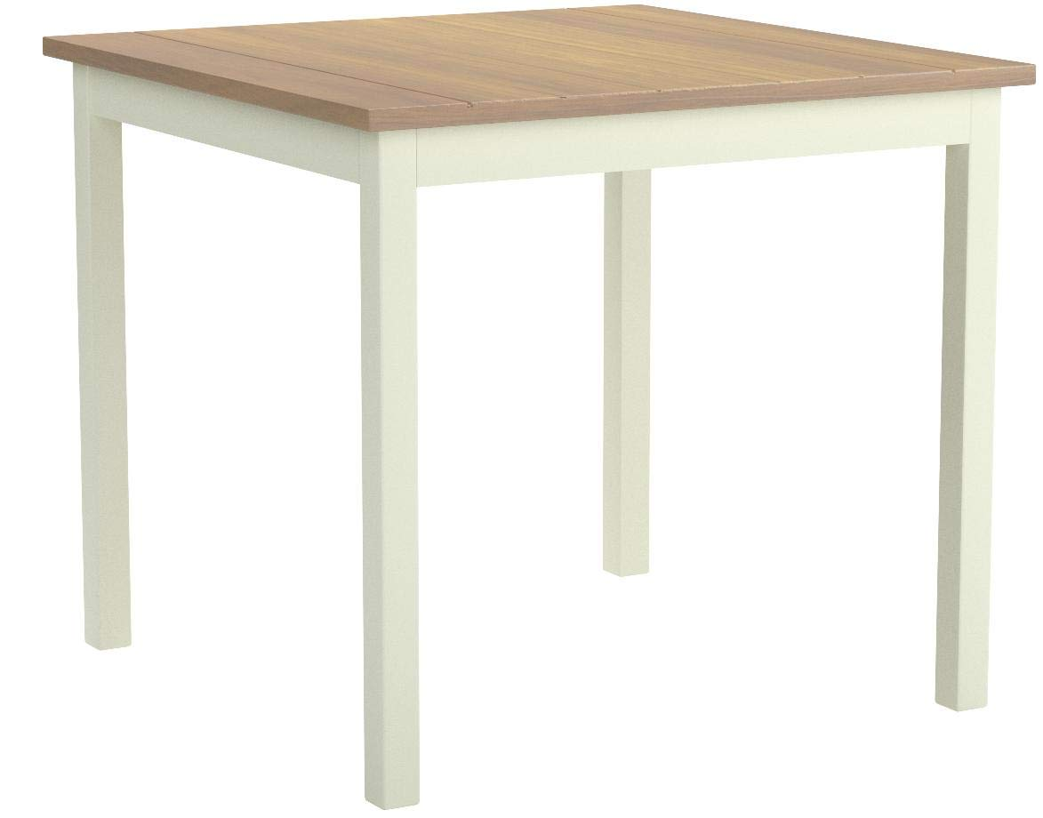 Zinus Farmhouse Square Wood Dining Table by Zinus (Image #1)