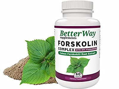 Forskolin Diet Pills for Weight Loss - Fat Burners for Men and Women - Slim and Lose Weight fast with Pure Coleus Forskohlii Root Extract Powder capsules