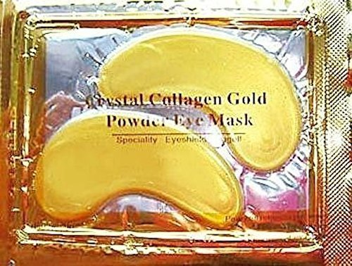 30 x Premium Crystal Collagen Gold Powder Eye Masks Face Pad Anti Ageing Wrinkle HQ Masks MABs