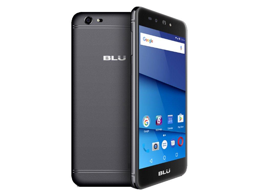 BLU Grand XL LTE G0030ww 5.5'' Smartphone 8GB GSM Unlocked Dual SIM 13MP Android (Black)