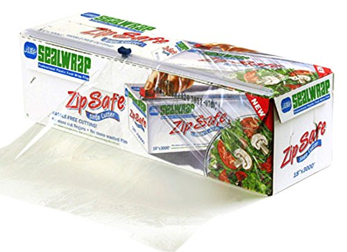"""AEP SealWrap Zipsafe Plastic Wrap, 24"""" Wide by 2000' Leng..."""