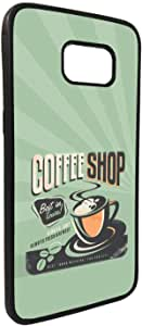 Old caffee Shop Printed Case for Galaxy S7