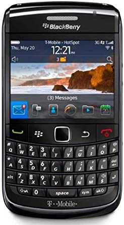 Amazon Com Blackberry Bold 9780 Black T Mobile