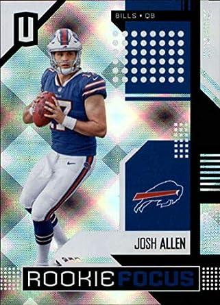 2018 Unparalleled Football Rookie Focus  10 Josh Allen Buffalo Bills  Official NFL Trading Card made d27c09122