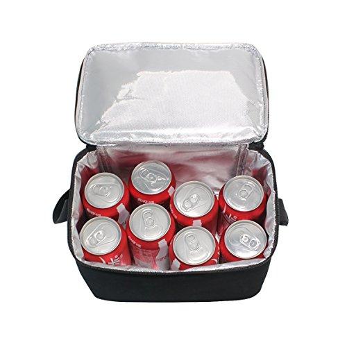 d'école Enfants Tout éléphant Lunch fourre Cooler Noir Isotherme Nique Sac à Sac déjeuner Pique Homme Box Domoko pour Indien Femme afzpxwq