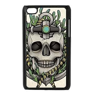 I-Cu-Le Phone Case Sugar Skull,Customized Case ForIpod Touch 4