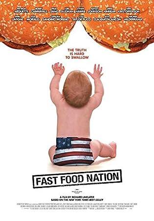 Amazon.com: Comida rápida Nación (B) Cartel (27