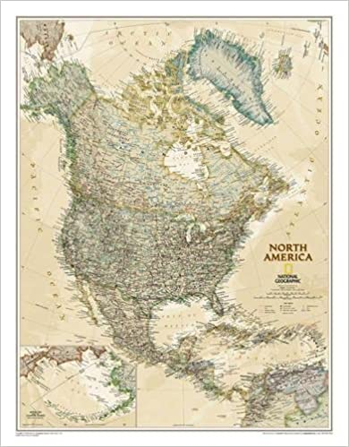 North america executive tubed national geographic reference map north america executive tubed national geographic reference map 9781597752909 reference books amazon gumiabroncs Gallery