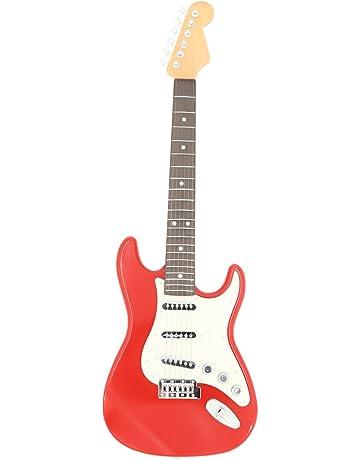 YAKOK 6 Cuerdas Guitarra Electrica Niños Guitarra Juguete para Niños y Niñas 3-12 años