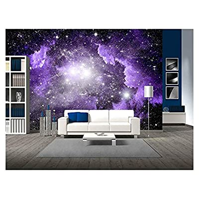 Stars of a Planet and Galaxy in a Free Space, Original Creation, Unbelievable Print