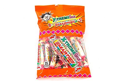 - Extreme Sour Smarties Bag