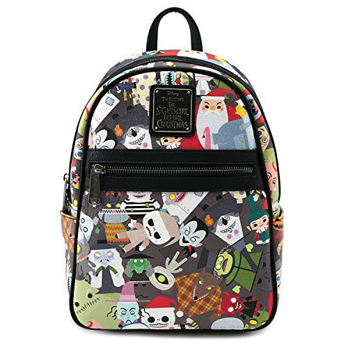 Loungefly x Nightmare Before Christmas Chibi Character Mini Backpack (One Size, ()
