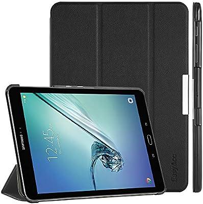EasyAcc Funda Cuero por Samsung Galaxy Tab S2 9.7 Ultra Delgada Elegante - Negro