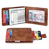 Best Clip Wallets - Money Clip Slim Wallet-Minimalist Bifold Front Pocket Wallet Review