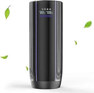 Epilum Purificador de Aire para Auto con Filtro HEPA: Amazon.es: Hogar
