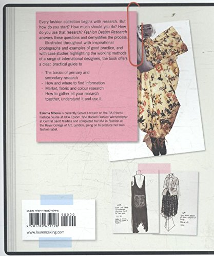 Fashion Design Research Mbonu Ezinma 9781780671796 Amazon Com Books