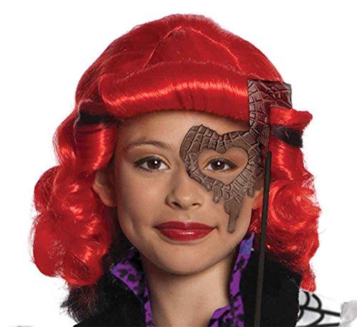 Operetta Costume With Wig (UHC Operetta Wig Monster High Kids Halloween Costume Accessory)