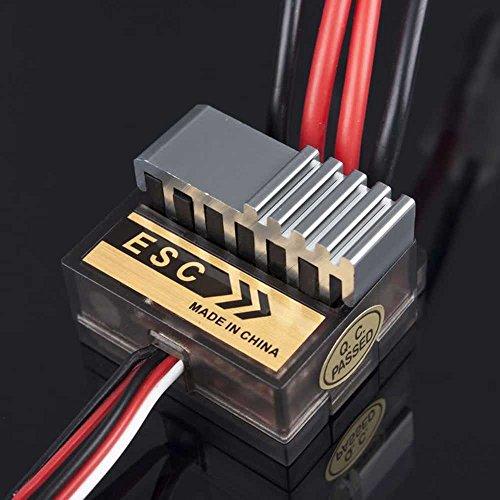 niceeshop(TM) 320A Speed Control ESC W Reverse 1/10 Fastest Shipping Traxxas Tamiya HPI Kyosho (Black)