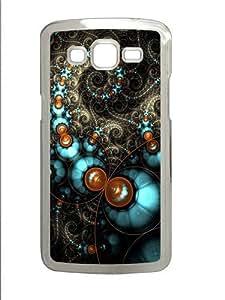 Samsung Grand 7106 Case, Samsung Grand 7106 Cases -Fractal Circles Custom PC Hard Case Cover for Samsung Grand 2/7106 Transparent