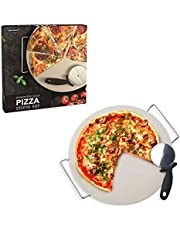 Danesco Pizza Stone and Rack