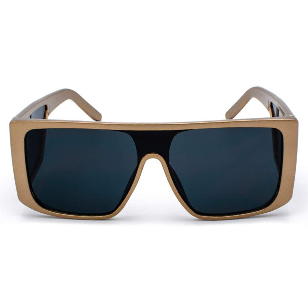 bd47762633 JiXuan Gafas de sol Rectangulares de gran Tamaño Hombres de lujo Vintage  Gafas de sol Hombre Máscara de marco completo Gafas Negro Escudo Punk Gafas  de sol ...