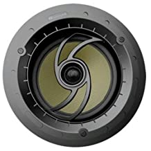 Russound RSA-63 6.5-Inch Angled in Ceiling Speaker with Thin Bezel and Magnetic Grill Each