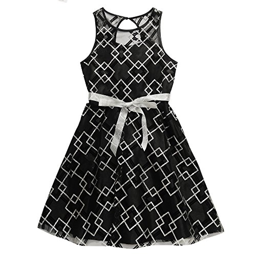 mesh around dress - 6
