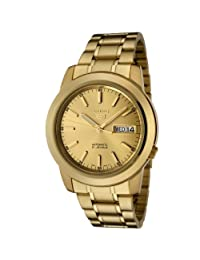 Seiko Men's 5 Automatic SNKE56K Gold Gold Tone Stainles-Steel Automatic Watch