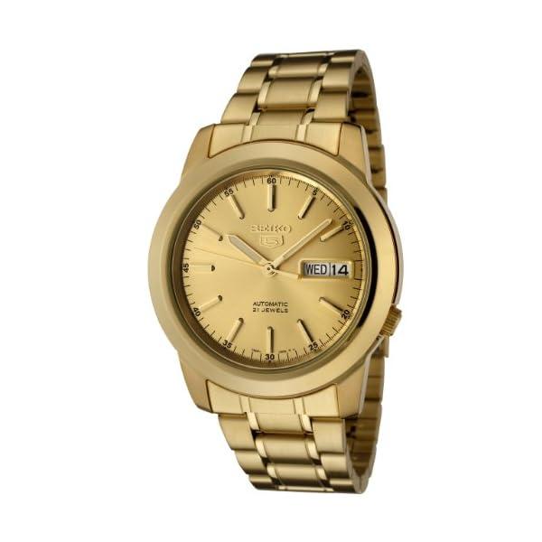 Seiko SNKE56 – Reloj para Hombres Color Dorado Seiko SNKE56 – Reloj para Hombres Color Dorado Seiko SNKE56 – Reloj para Hombres Color Dorado