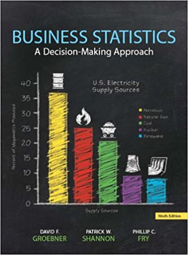 business statistics 9th groebner