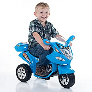 Lil-Rider-Blue-Baron-Motorized-3-Wheel-Battery-Powered-Bike-Includes-6-Bonus-Sport-Cones