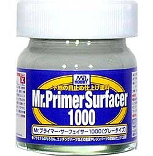 Mr Hobby Gunze Sangyo Primer Surfacer 1000 SF-287 40ml for P