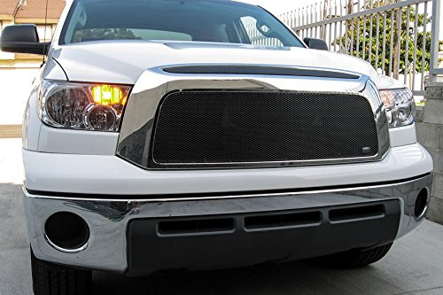 GrillCraft TOY1964B MX Series Black Upper 1pc Mesh Grill Grille Insert for Toyota - Toyota Tundra Grillcraft Grille