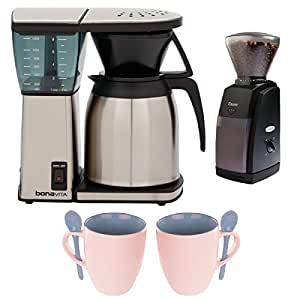 Bonavita BV1800TH 8 Cup Coffee Maker w/ Thermal Carafe plus Encore Coffee Grinde