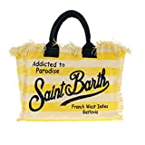 Mc2 Saint Barth Women's Vanityrigalig91 Yellow Polyester Tote